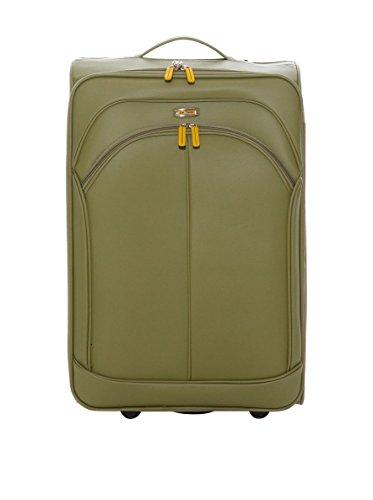 Maletas Queralt de Viaje 2 Ruedas, London de John Travel, 62 cm, 47 L, Verde